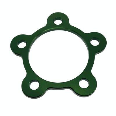 Rear wheel cover ring M8 Green, Green