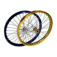 Front wheel Silver Morad assembled, Silver - 1/2