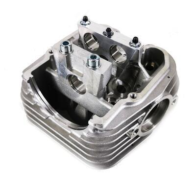 JAWA 250 Cylinder head with seats and porting - 1