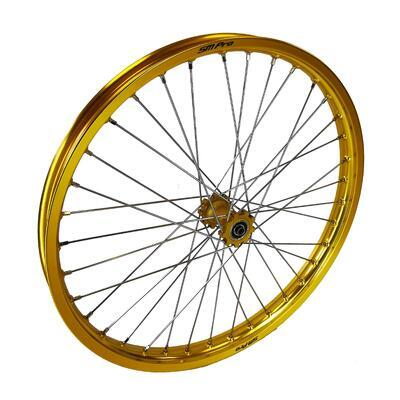 Front wheel Gold SMPro assembled, Gold