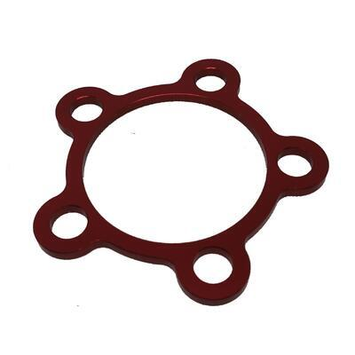 Rear wheel cover ring M10 Red, Red