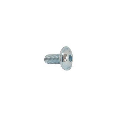 Screw M5x12 button head with flange 10.9