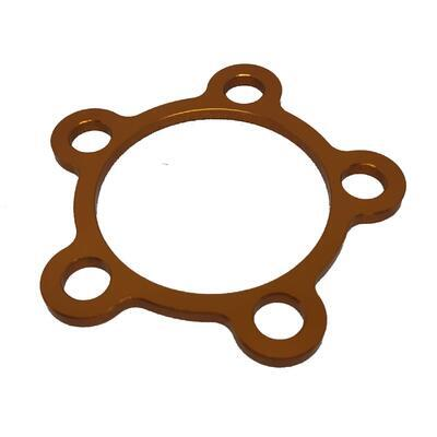 Rear wheel cover ring M10 Gold, Gold
