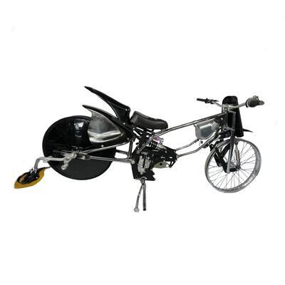 JAWA Motorcycle for LONG TRACK with belt - 1