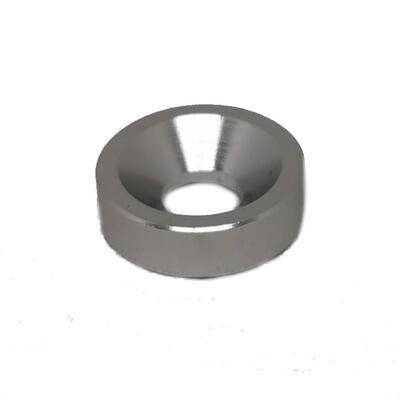 Washer 8 - straight - Silver