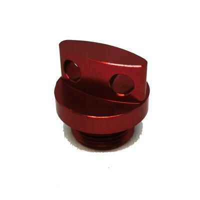 Screw 20x1,5 - Oil spill Red, Red