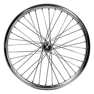 Front wheel Silver Morad assembled, Silver - 2