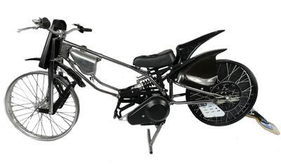 JAWA Motorcycle for LONG TRACK with belt - 2
