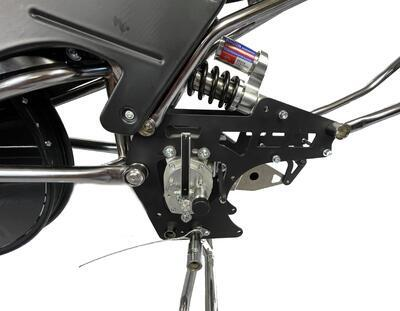JAWA Motorcycle for LONG TRACK with belt - 5