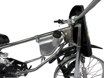 JAWA Motorcycle for LONG TRACK with belt - 7